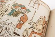 Codex Choumach (Picture Pentateuch of Moses dal Castellazzo), Warsaw, Zydowski Instytut Historyczny, Codex 1164 − Photo 4
