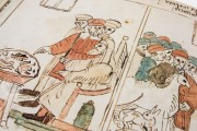 Codex Choumach (Picture Pentateuch of Moses dal Castellazzo), Warsaw, Zydowski Instytut Historyczny, Codex 1164 − Photo 9