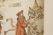 Codex Choumach (Picture Pentateuch of Moses dal Castellazzo), Warsaw, Zydowski Instytut Historyczny, Codex 1164 − Photo 10