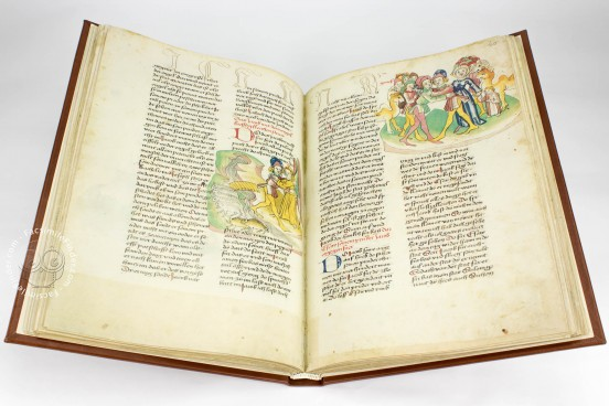 Vorau Picture Bible, Vorau, Stift Vorau, Codex 273 − Photo 1