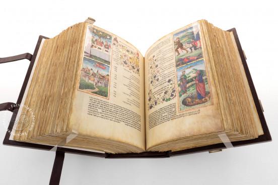 Rothschild Miscellany, Jerusalem, Israel Museum, Ms. 180/51 − Photo 1