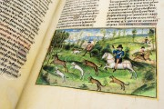 Book of the Hunt, Bruxelles, Bibliothèque Royale de Belgique, Ms. 10218 − Photo 3