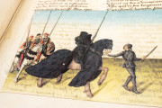Tournament Book of René d'Anjou, St. Petersburg, National Library of Russia, Cod. Fr. F. XIV. Nr. 4 − Photo 11