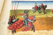 Tournament Book of René d'Anjou, St. Petersburg, National Library of Russia, Cod. Fr. F. XIV. Nr. 4 − Photo 14