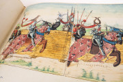 Tournament Book of René d'Anjou, St. Petersburg, National Library of Russia, Cod. Fr. F. XIV. Nr. 4 − Photo 18
