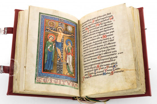Hainricus Missal, New York, The Morgan Library & Museum, Ms M. 711 − Photo 1