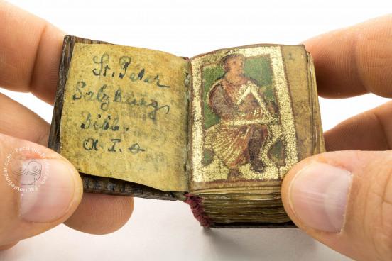 Psalterium Sancti Ruperti, Cod. A I. 0 - Archiv von St. Peter (Salzburg, Austria) − photo 1