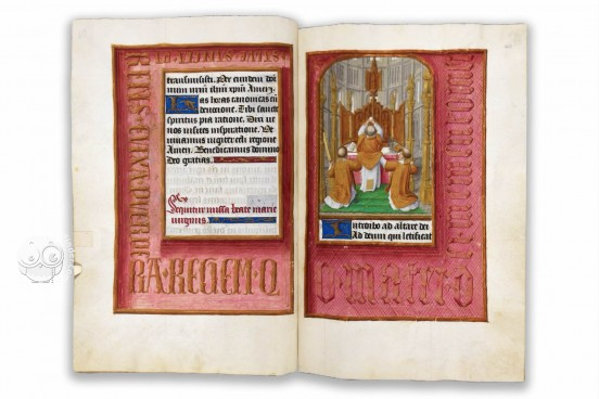 Hours of Joanna I of Castile, Joanna the Mad, London, British Library, Add. Ms. 35313 − Photo 1