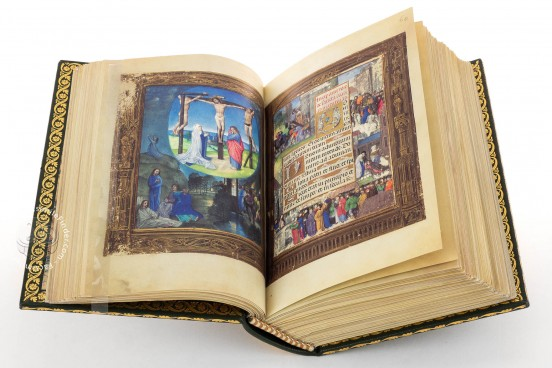 La Flora - Book of Hours, Naples, Biblioteca Nazionale Vittorio Emanuele III, Ms. I.B.51 − Photo 1
