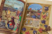 La Flora - Book of Hours, Naples, Biblioteca Nazionale Vittorio Emanuele III, Ms. I.B.51 − Photo 8