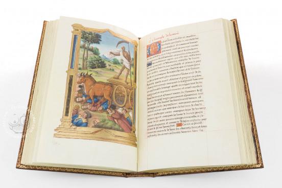 Les Triomphes de Petrarque, Vienna, Österreichische Nationalbibliothek, Cod. 2581 − Photo 1