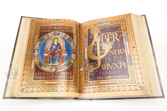 Lorsch Gospels Pal. lat. 50 - Biblioteca Apostolica Vaticana;  Biblioteca Documentara Batthyaneum; Inv. Nr. 138-1866 - Victoria and Albert Museum (London, United Kingdom) − photo 1