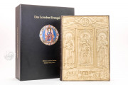 Lorsch Gospels Pal. lat. 50 - Biblioteca Apostolica Vaticana;  Biblioteca Documentara Batthyaneum; Inv. Nr. 138-1866 - Victoria and Albert Museum (London, United Kingdom) − photo 2