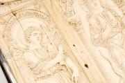 Lorsch Gospels Pal. lat. 50 - Biblioteca Apostolica Vaticana;  Biblioteca Documentara Batthyaneum; Inv. Nr. 138-1866 - Victoria and Albert Museum (London, United Kingdom) − photo 22