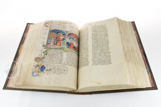 Boccaccio's Decameron, Paris, Bibliothèque de l'Arsenal, Ms 5070 − Photo 1