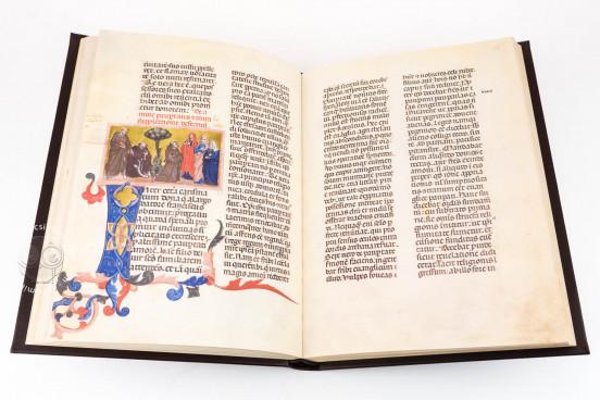 Saint Francis - Legenda Maior, Rome, Biblioteca Nazionale Centrale, Vittorio Emanuele 411 − Photo 1