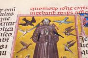 Saint Francis - Legenda Maior, Rome, Biblioteca Nazionale Centrale, Vittorio Emanuele 411 − Photo 4