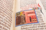 Saint Francis - Legenda Maior, Rome, Biblioteca Nazionale Centrale, Vittorio Emanuele 411 − Photo 9