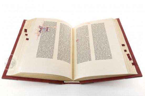 Gutenberg Bible - Pelplin copy, Pelplin, Biblioteka Seminarium Duchownego, Hub. 28 − Photo 1