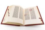 Gutenberg Bible - Pelplin copy, Pelplin, Biblioteka Seminarium Duchownego, Hub. 28 − Photo 3