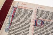 Gutenberg Bible - Pelplin copy, Pelplin, Biblioteka Seminarium Duchownego, Hub. 28 − Photo 9