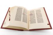 Gutenberg Bible - Pelplin copy, Pelplin, Biblioteka Seminarium Duchownego, Hub. 28 − Photo 13