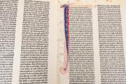 Gutenberg Bible - Pelplin copy, Pelplin, Biblioteka Seminarium Duchownego, Hub. 28 − Photo 14