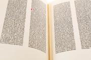 Gutenberg Bible - Pelplin copy, Pelplin, Biblioteka Seminarium Duchownego, Hub. 28 − Photo 15