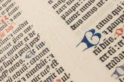 Gutenberg Bible - Pelplin copy, Pelplin, Biblioteka Seminarium Duchownego, Hub. 28 − Photo 16