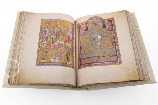 Das Antiphonar von St. Peter, Vienna, Österreichische Nationalbibliothek, Codex Vindobonensis S. N. 2700 − Photo 1