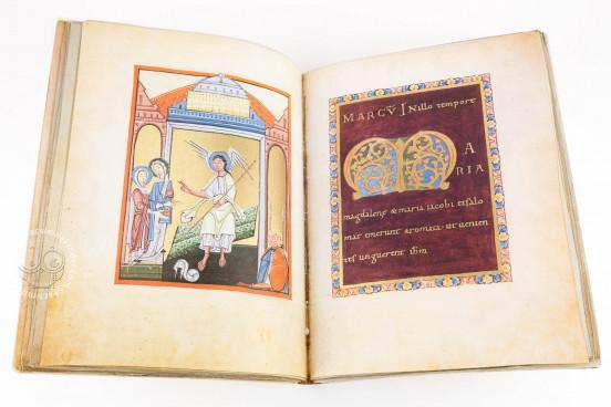 Reichenau Evangelistary, Berlin, Staatsbibliothek Preussischer Kulturbesitz, Codex 78 A 2 − Photo 1