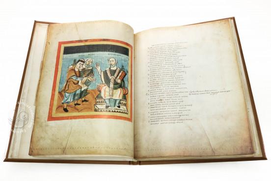 Hrabanus Maurus - Liber de laudibus sanctae Crucis, Codex Vindobonensis 652 - Österreichische Nationalbibliothek (Vienna, Austria) − photo 1