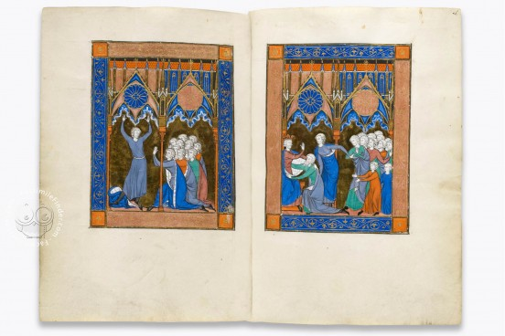 Psalter of Louis the Saint, Paris, Bibliothèque Nationale de France, Ms. lat. 10525 − Photo 1