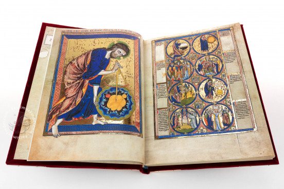 Bible Moralisée, Vienna, Österreichische Nationalbibliothek, Codex Vindobonensis 2554 − Photo 1