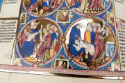 Bible Moralisée, Vienna, Österreichische Nationalbibliothek, Codex Vindobonensis 2554 − Photo 6