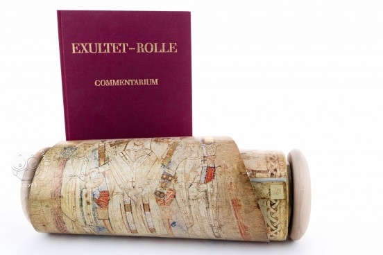 Exultet Roll, Vatican City, Biblioteca Apostolica Vaticana, Codex Vaticanus lat. 9820 − Photo 1