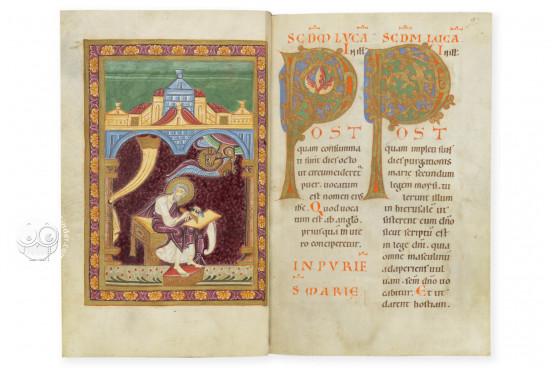 Golden Book of Pfäfers, St. Gallen, Stiftsarchiv St. Gallen, Codex Fabariensis 2 − Photo 1