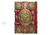 Golden Book of Pfäfers, St. Gallen, Stiftsarchiv St. Gallen, Codex Fabariensis 2, Das Goldene Buch von Pfäfers (Deluxe Edition) by Adeva.