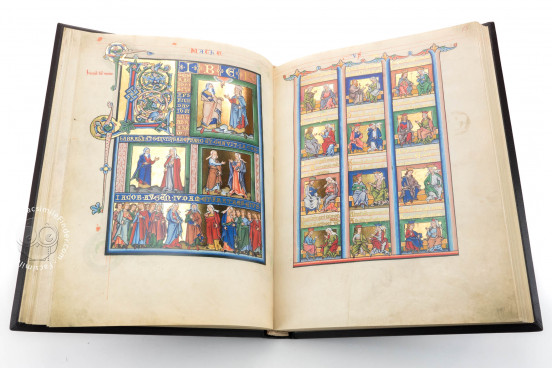 Mainz Gospels, Aschaffenburg, Hofbibliothek Aschaffenburg, Ms. 13 − Photo 1
