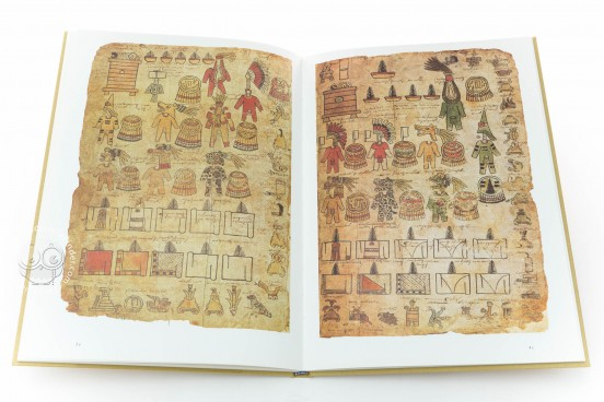 Matrícula de Tributos - Moctezuma Codex, Codex 35-52 - Museo Nacional de Antropología (Mexico City, Mexico) − Photo 1