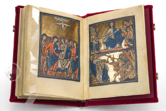 Oxford Bible Pictures, Ms. W. 106 › Walters Art Museum (Baltimora, USA) Musée Marmottan (Paris, France) − photo 1
