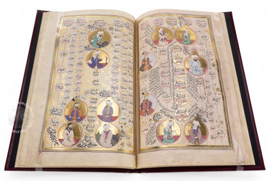 Rosenkranz der Weltgeschichte - Subḥat al-aḫbār, Vienna, Österreichische Nationalbibliothek, Codex Vindobonensis AF 50 − Photo 1