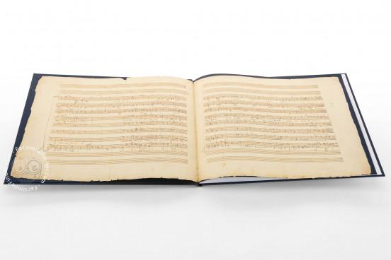 W.A. Mozart: Ave verum Corpus, KV 618, Vienna, Österreichische Nationalbibliothek, Mus. Hs. 18.975/3 − Photo 1