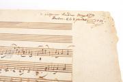 W.A. Mozart: Ave verum Corpus, KV 618, Vienna, Österreichische Nationalbibliothek, Mus. Hs. 18.975/3 − Photo 3