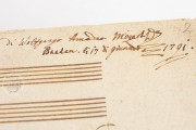 W.A. Mozart: Ave verum Corpus, KV 618, Vienna, Österreichische Nationalbibliothek, Mus. Hs. 18.975/3 − Photo 8