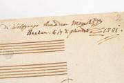 W.A. Mozart: Ave verum Corpus, KV 618, Vienna, Österreichische Nationalbibliothek, Mus. Hs. 18.975/3 − Photo 10
