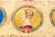 Genealogy of the d'Este Princes, Modena, Biblioteca Estense Universitaria, a.L.5.16 = Ital. 720 Rome, Biblioteca Nazionale Centrale, Fondo Vitt. Emanuele n. 293, cc. i-8-ii − Photo 3