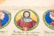 Genealogy of the d'Este Princes, Modena, Biblioteca Estense Universitaria, a.L.5.16 = Ital. 720 Rome, Biblioteca Nazionale Centrale, Fondo Vitt. Emanuele n. 293, cc. i-8-ii − Photo 6
