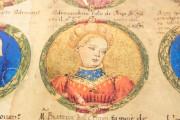 Genealogy of the d'Este Princes, Modena, Biblioteca Estense Universitaria, a.L.5.16 = Ital. 720 Rome, Biblioteca Nazionale Centrale, Fondo Vitt. Emanuele n. 293, cc. i-8-ii − Photo 8