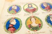 Genealogy of the d'Este Princes, Modena, Biblioteca Estense Universitaria, a.L.5.16 = Ital. 720 Rome, Biblioteca Nazionale Centrale, Fondo Vitt. Emanuele n. 293, cc. i-8-ii − Photo 9